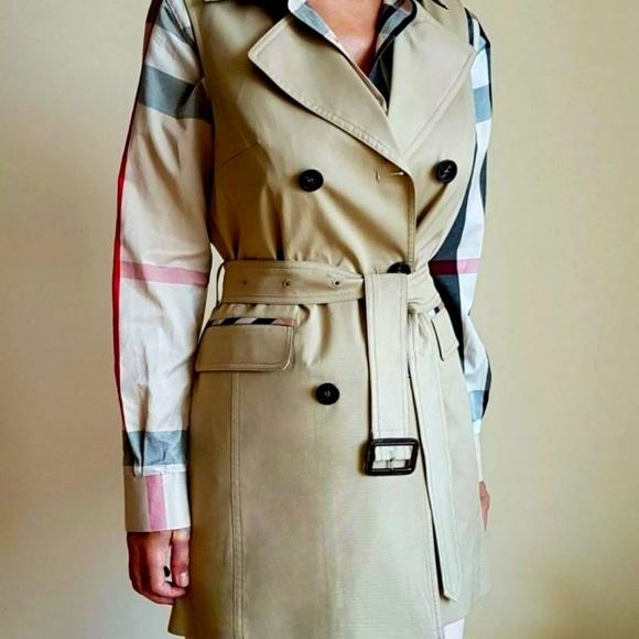 Burberry Vest Trench Coat